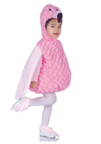 Underwraps Costumes Baby's Flamingo Belly-Babies, Pink, (Girls Flamingo Costumes)