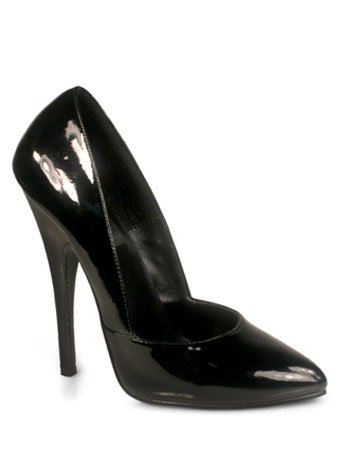 Pleaser Domina-423 - Sexy extreme Fetisch Pumps High Heels 35-45, Größe:EU-39 / US-9 / UK-6