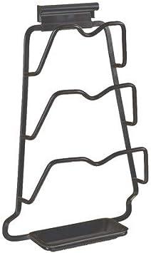 Wall Mounted or Kitchen Cupboard Door Saucepans Pan Lid Storage Rack Holder
