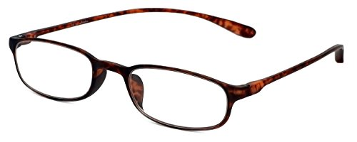 Calabria Reading Glasses - 718 Flexie in Tortoise