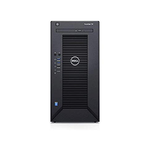2019 Newest Flagship Dell PowerEdge T30 Premium Business Mini Tower Server System Desktop Computer, Intel Quad-Core Xeon E3-1225 v5 Up to 3.7GHz, 16GB UDIMM RAM, 2TB HDD, DVDRW, HDMI, No OS, Black (Best Small Business Servers 2019)