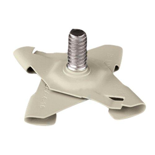 - Panavise 863W CCTV T-Bar Ceiling Clip Base (Cream)