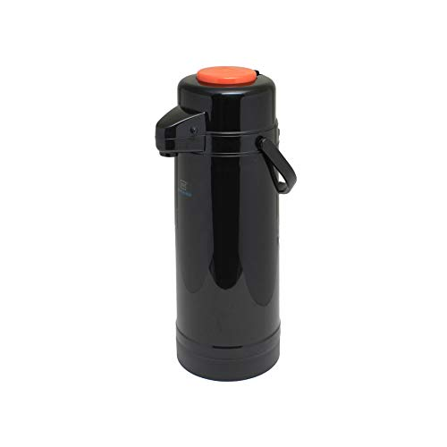 (Plastic body, glass lined 2.2 lt/74 oz airpot, plastic body, glass lined, push button, decaf, comes in each)