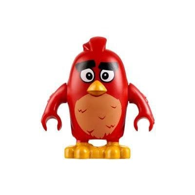 LEGO The Angry Birds Movie Minifigure - Red Bird (75822): Toys & Games