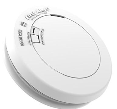 (BRK PRC710B Single Station Smoke and CO Combination Alarm With 3 Volt Lithium Power Cell First Alert)