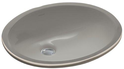 KOHLER K-2209-K4 Caxton Undercounter Bathroom Sink, Cashmere