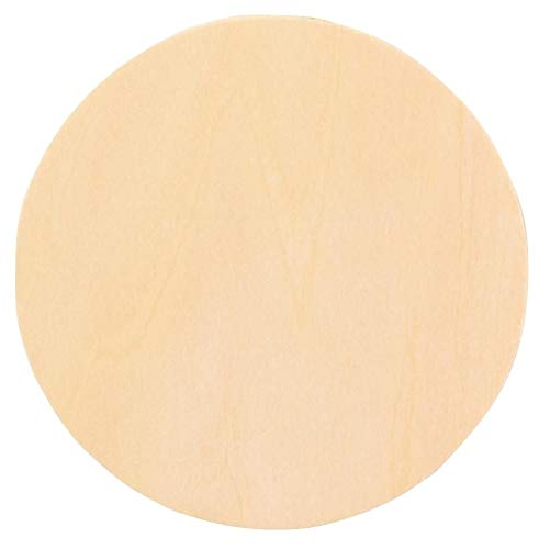 Woodcrafter 1'' Thick Baltic Birch Plywood Circle 18 Inch by Woodcrafter.com