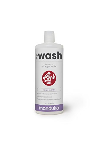 Manduka Organic Yoga Mat Cleaner, 32 oz,