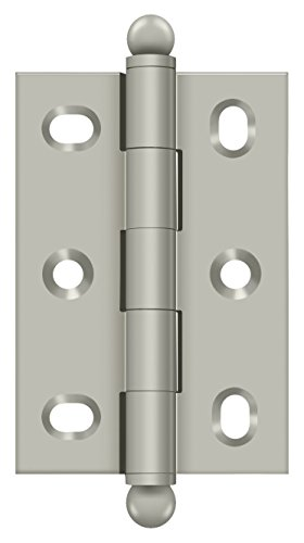 - Deltana CHA2517U15 2-1/2-Inch x 1-11/16-Inch Adjustable Cabinet Hinge with Ball Tips