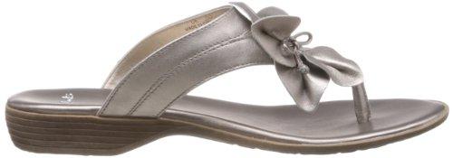 Ladies Clarks Toe Post Sandals Region Lane Grey E0RcQoV73Z