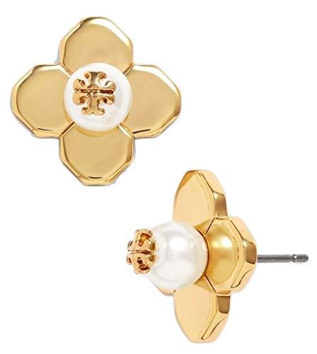 Tory Burch Women's Babylon Stud Earrings, Gold Tone