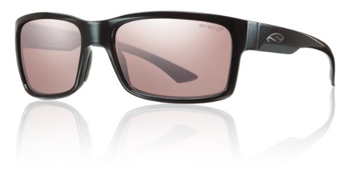 Smith Dolen Sunglasses - Photochromic ChromaPop Black/Ignitor, One - Dolen Sunglasses Smith