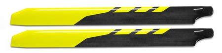 - RotorTech 430mm Angled Tip Carbon Fiber Main Blades CN264301