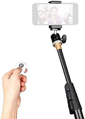 QZSD q-148 Cámara Monopod Selfie Stick Soporte con Mini rótula de ...