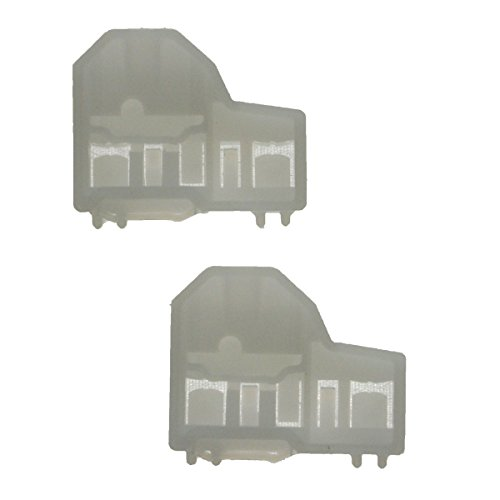 Window Channel Guides Clip Pair Set Front Right for Alero Grand Am Cutlass