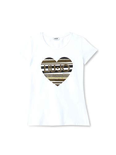 Liu Blanco W19422j9944 Camiseta Jo Mujer qv1wAqr7