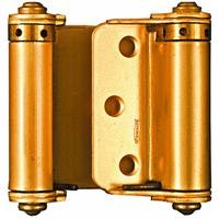 2 Way Hinges - National Hardware N115-303 V127 Double-Acting Spring Hinges in Brass, 3