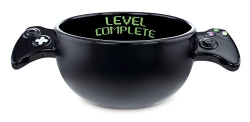 "KOVOT ""Level Complete"" Gamer Bowl (Black)"