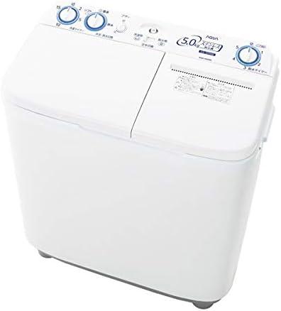 アクア 5.0kg 2槽式洗濯機 ホワイトAQUA AQW-N50-W