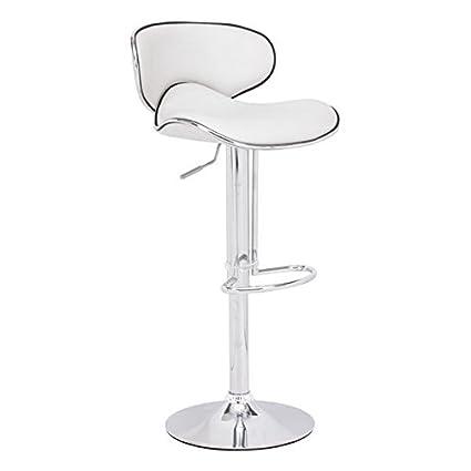 Zuo Modern Fly Barstool, White