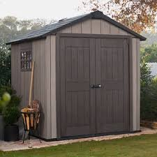 Keter Oakland 7.5' x 7' Shed (7.5' Outdoor Storage Shed)