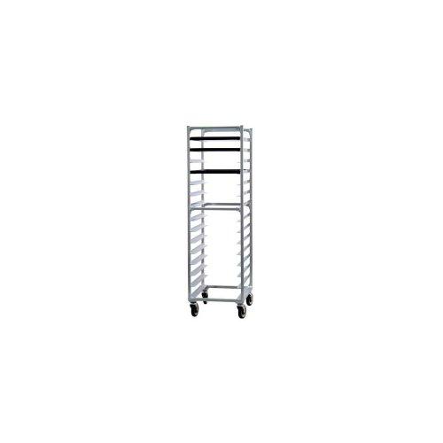 New Age 1332 Aluminum End Loading 15 Pan Capacity Bun Pan Rack
