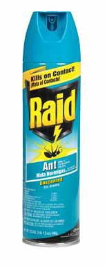 Johnson S.C. & Sons Inc 01714 ''Raid'' Ant Killer Spray 17.5 Oz., Unscented by Raid