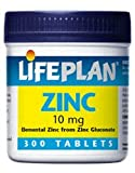 Lifeplan Zinc (Gluconate) 10mg – 300 Tablets For Sale