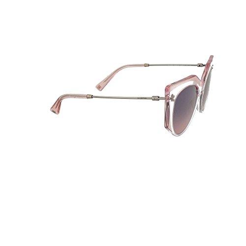 Rose Valentino Va De Crystal blue Lunettes Shaded 4033 Soleil Pink Femme O8O4F