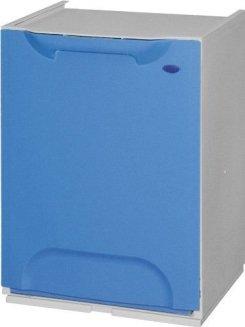Pattumiera/Cassonetto modulo componibile per Raccolta Differenziata Ecologico Color - Blu GrecoShop