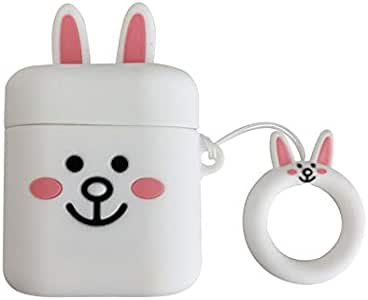 Cartoon White Rabbit Wireless Bluetooth Headset Cover for For Huawei Freebuds2 Pro