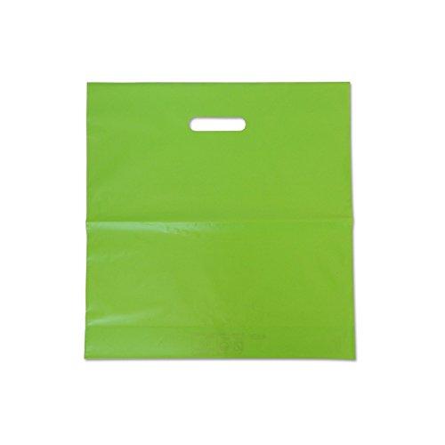 Bolsa Plastico Verde 40x40 cm Pack 100 ud: Amazon.es ...