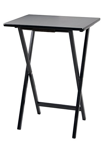 black tray table - 2