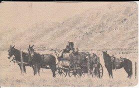 1983-philip-morris-credit-card-size-plastic-calendar-stagecoach-horse-scene