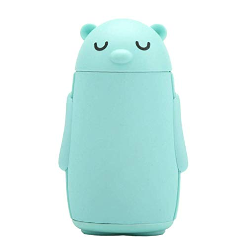 - YUN Roommate Bear Mobile Power Hand Warmer USB Charging Treasure Rubber Material (Color : Green)