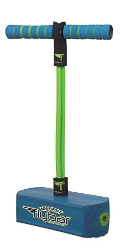 My First Flybar – Blue Foam Pogo Jumper For Kids – Fun and Safe Pogo Stick For Toddlers, Durable Foam and Bungee Jumper For Ages 3+, Supports up to 250lbs by Flybar