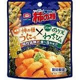 亀田製菓 亀田の柿の種 うに味×のり天わさび味 35g×10袋