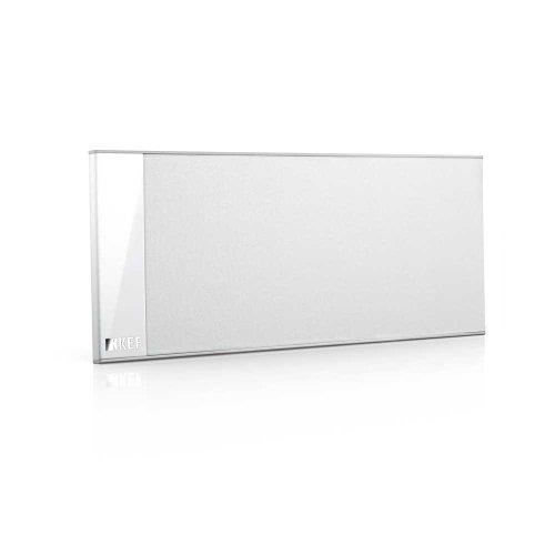 KEF T101CWH Center Channel Speaker - White (Single)