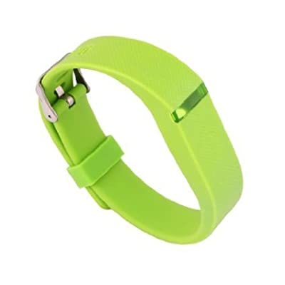 Replacement Wrist Band Buckle for Fitbit Flex - Code001 lime