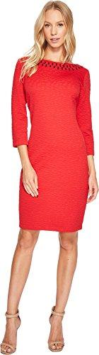 Neckline Knit Dress - 6