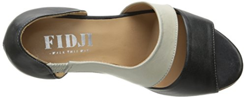 Vestito Da Donna Fidji V135 Sandalo Nero / Bianco
