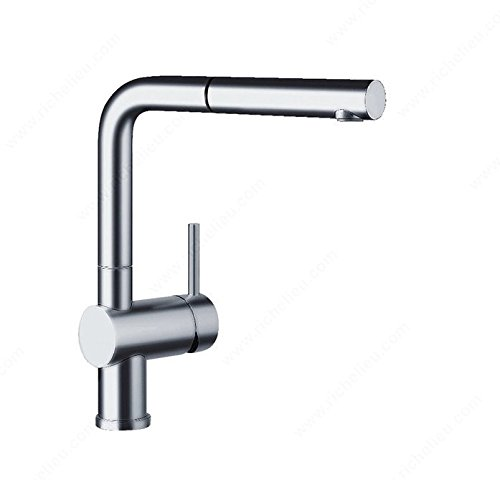 Richelieu Kitchen Sinks and Faucets Accessories Blanco Kitchen Faucet - Linus - 4828140 - Chrome by Level USA