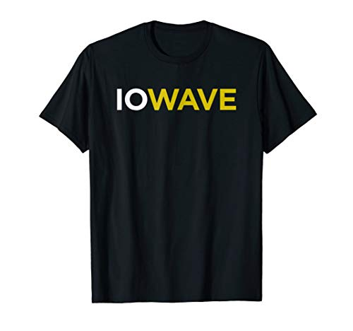 State of Iowa Iowave Wave Tee Shirt For Fans and Residents]()