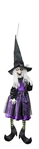 Swinging Sally Light up Witch -