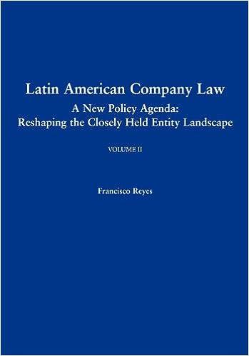 Amazon.com: Latin American Company Law, Volume II: A New ...