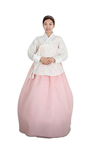 Hanbok Korea Traditional Costumes Women Junior Weddings Birthday Speical Ceremony co109 (88 (XL) womens top) by Hanbok store