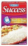 Success Rice, 10 Minute, Boil-In-Bag, Jasmine Rice, 14oz Box (Pack of 4)