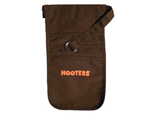 Hooters Girl Uniform Brown Pouch -