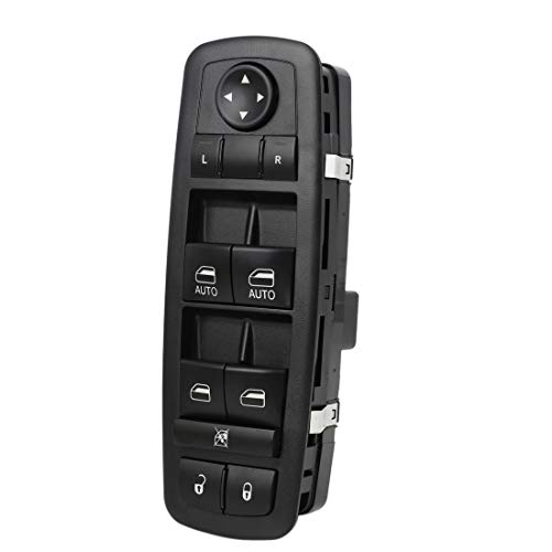 uxcell 4602863AB Master Power Window Switch for 2009-2012 Dodge Ram 1500 2500 3500