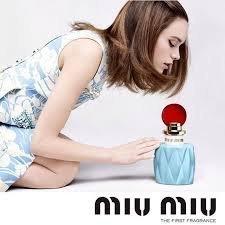 Scented **Magazine PRINT AD** With Stacy Martin For 2015 Miu Miu Fragrance**PRINT - Miu 2015 Miu